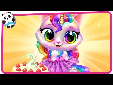 Twinkle - Unicorn Cat Princess - Fun Pet Care & Dress Up Game for Kids