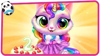 Twinkle - Unicorn Cat Princess - Fun Pet Care & Dress Up Game for Kids