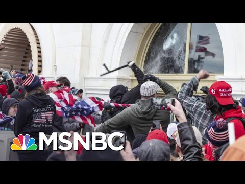 The Washington Post Reports 13 Police Officers Suspected Of Role In Riots | MSNBC