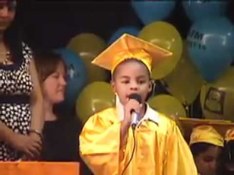 What I Want To Be When I Grow Up Kindergarden Graduation Speech