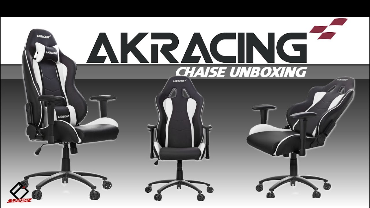 Nouvelle chaise gaming akracing nitro unboxing pour for Chaise youtubeur