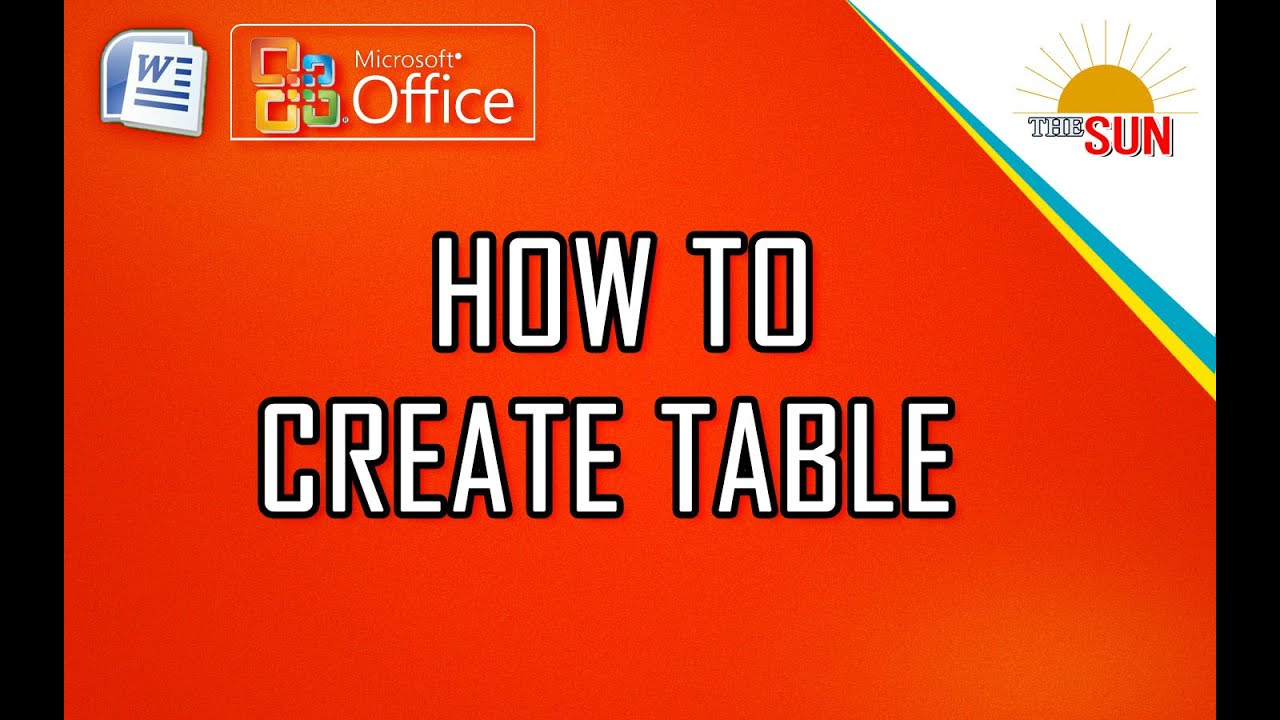 how to make table tents
