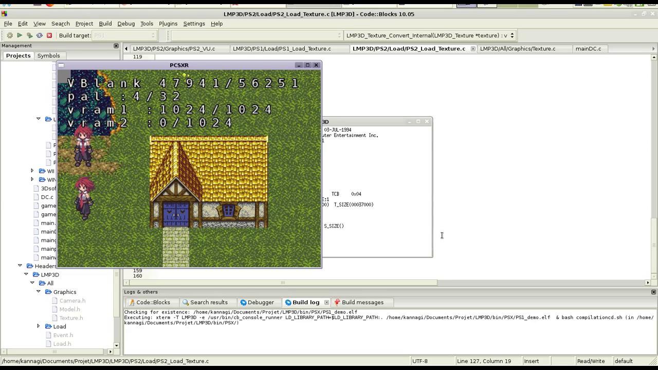 New LMP3D 3D Library for Dreamcast, PS2, PS1 ect  | ASSEMbler - Home