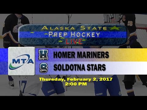North Star Hockey Tournament Game 1: Mariners vs Stars