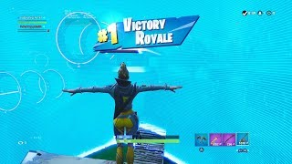 "FORTNITE First Win with ""VEGA"" SKIN (""BOUNTY HUNTER"" OUTFIT Showcase) SEASON 9 PASS BATTLE"