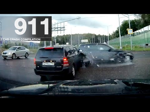 Car Crash Compilation 911 - September 2017