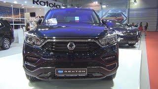 SsangYong Rexton G4 2.2 e-Xdi 220 181 hp (2018) Exterior and Interior