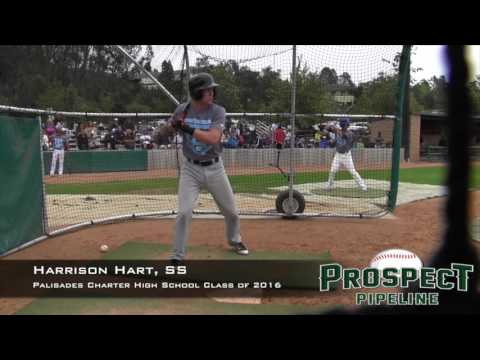 Harrison Hart Prospect Video, SS, Palisades Charter High School Class of 2016