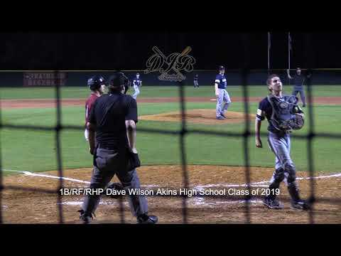 1B/RF/RHP Dave Wilson Akins High School Class of 2019