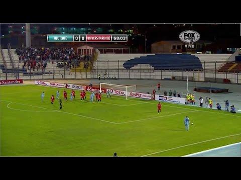 Deportes Iquique 1 - 0 Universitario de Sucre Copa Sudamericana 2014