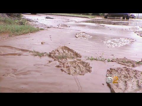 Water Main Break Sends Water Into West Babylon Homes