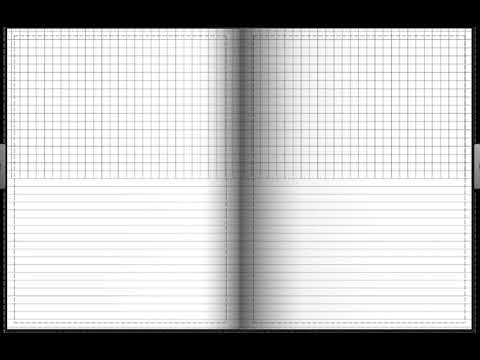 half graph half lined paper youtube