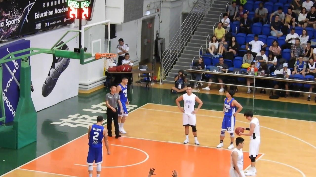 2018香港籃球聯賽 東方VS遊協(4) - YouTube
