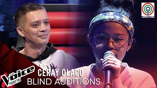 Ceray Olaco - Ikaw At Ako | Blind Audition | The Voice Teens Philippines 2020