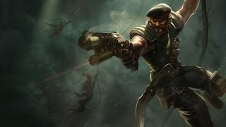 ONE SHOT Gangplank Q on draven [League of Legends] before rework