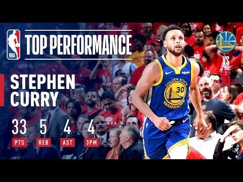 One of the best moments of 2019 playoffs: Curry's 33-point 2nd half against the Rockets in G6. Appreciate the fact he went at PJ Tucker, the Rocket's best defender, down the stretch