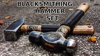 Blacksmithing Hammer: Viking Design And Leather Wrap