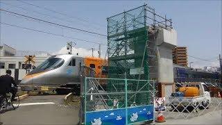 松山駅付近 高架化工事 2019年6月