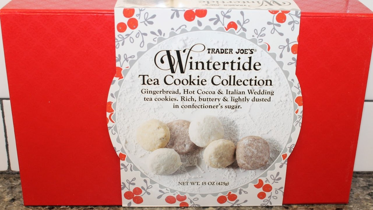 Trader Joe\'s: Wintertide Tea Cookie Collection Review - YouTube