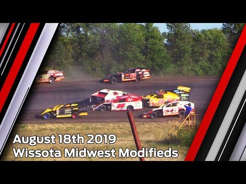 August 18th 2019, ALH Wissota Midwest Modifieds Heats & Feature