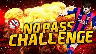 ULTIMATE NO PASS CHALLENGE! FIFA 15 ULTIMATE TEAM