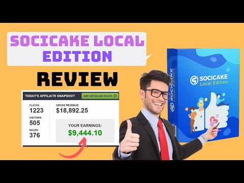 Socicake Local Edition  Review | Facebook Messenger Bot. http://bit.ly/2ZvzOQD