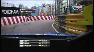 WTCC 2012. Round 12. Macau. On board lap Rob Huff