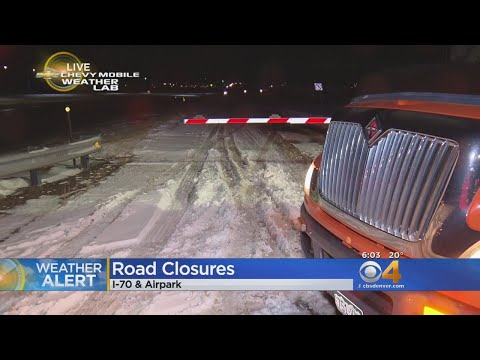 Mobile Weather Lab Tracks Road Closures