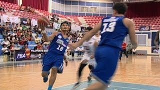 PAMPANGA FOTON VS. MANILA NU - Q4 | FBA 2015