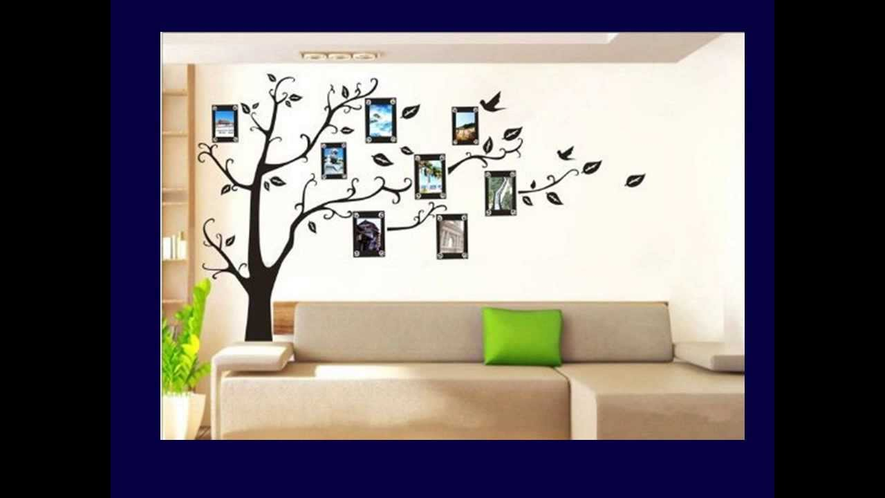 Family Tree Photo Wall family tree wall decal - youtube