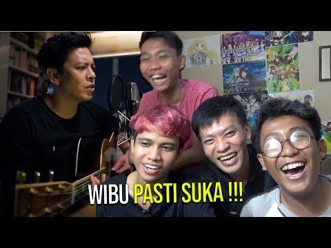 REAKSI ANIME LOVERS (WIBU) DENGERIN LAGU  MOSHIMO MATA ITSUKA (Mungkin Nanti) - feat Ariel Nidji