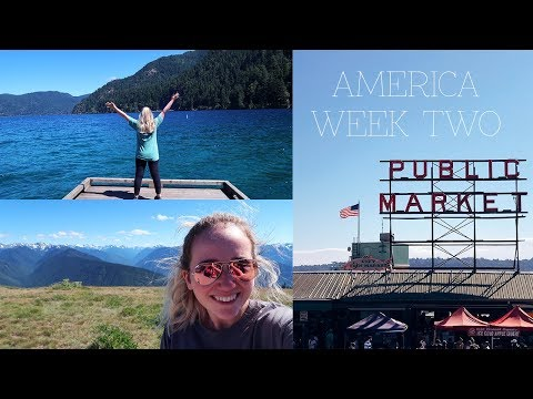 AMERICA TRAVEL VLOG 2: Seattle & Port Townsend | Amy Farquhar