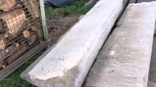 pískovcové schody