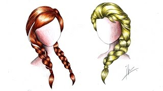 how to draw a braid 4 steps with pictures wikihow
