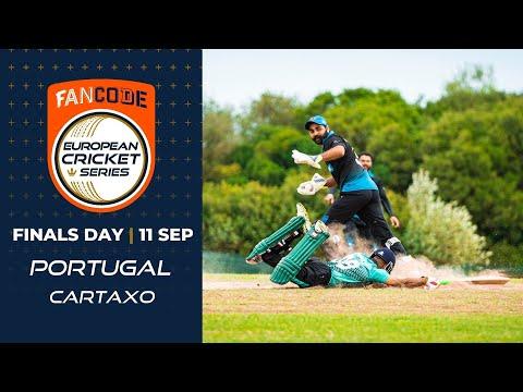 🔴 FanCode European Cricket Series Portugal, Cartaxo Finals Day | T10 Live Cricket