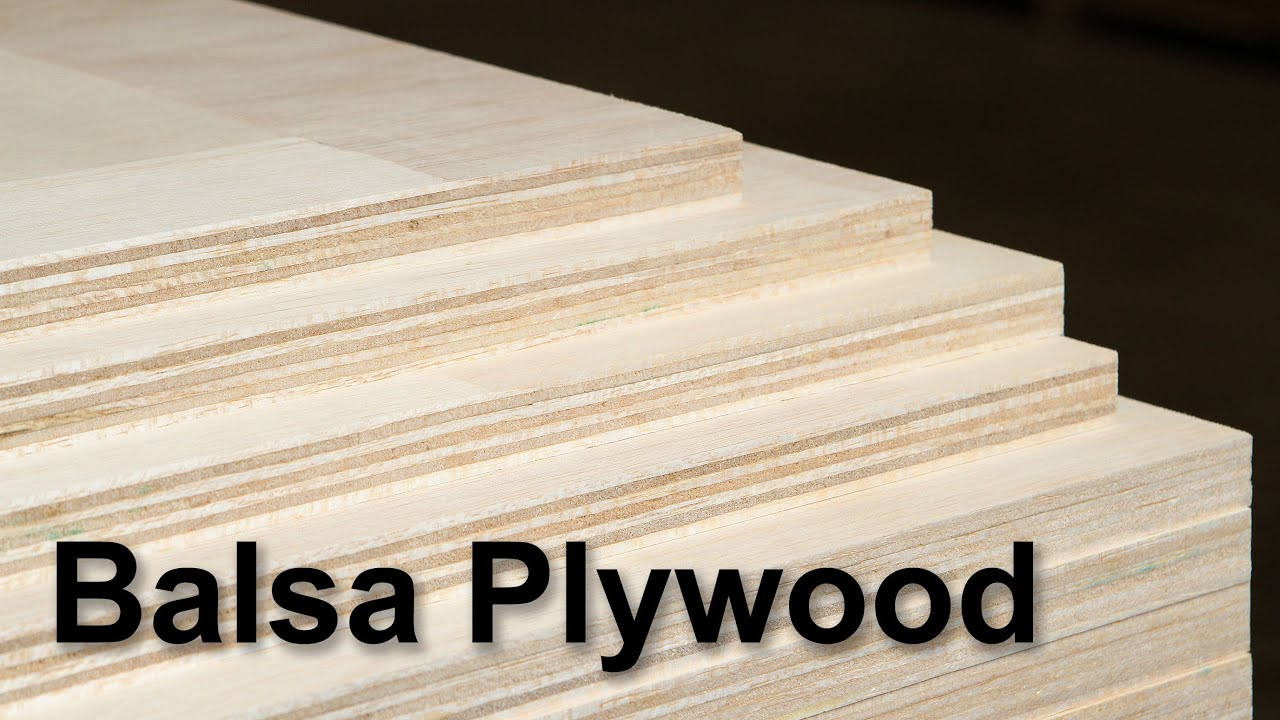 Balsa Plywood At Roberts Plywood Youtube