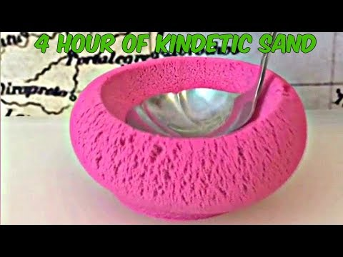 *4 Hours* Of SATISFYING KINETIC SAND VIDEO COMPILATION (Ultimate ASMR)