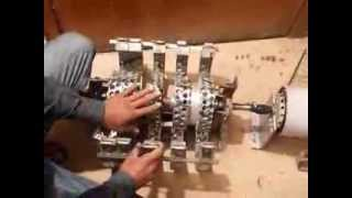 Free Energy ??? - Fact or Fake ? Wasif Kahloon showing selfrunning magnet motor