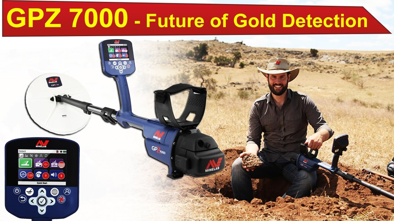GPZ 7000 Gold Detector | Future of Gold Detection