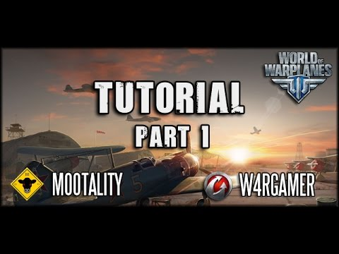 World of Warplanes - Tutorial mit W4RGAMER - Teil 1: UI + Gameplay