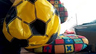 Inflate and riding my broken Beach Ball