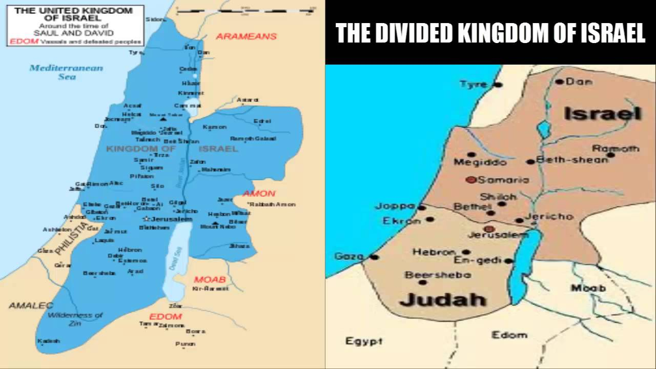 differences of northern and southern biblical kingdoms Israelite prophets date chart dennis  kingdoms: dates (bc) israel (northern) judah (southern) dates (bc  different time frames of biblical.