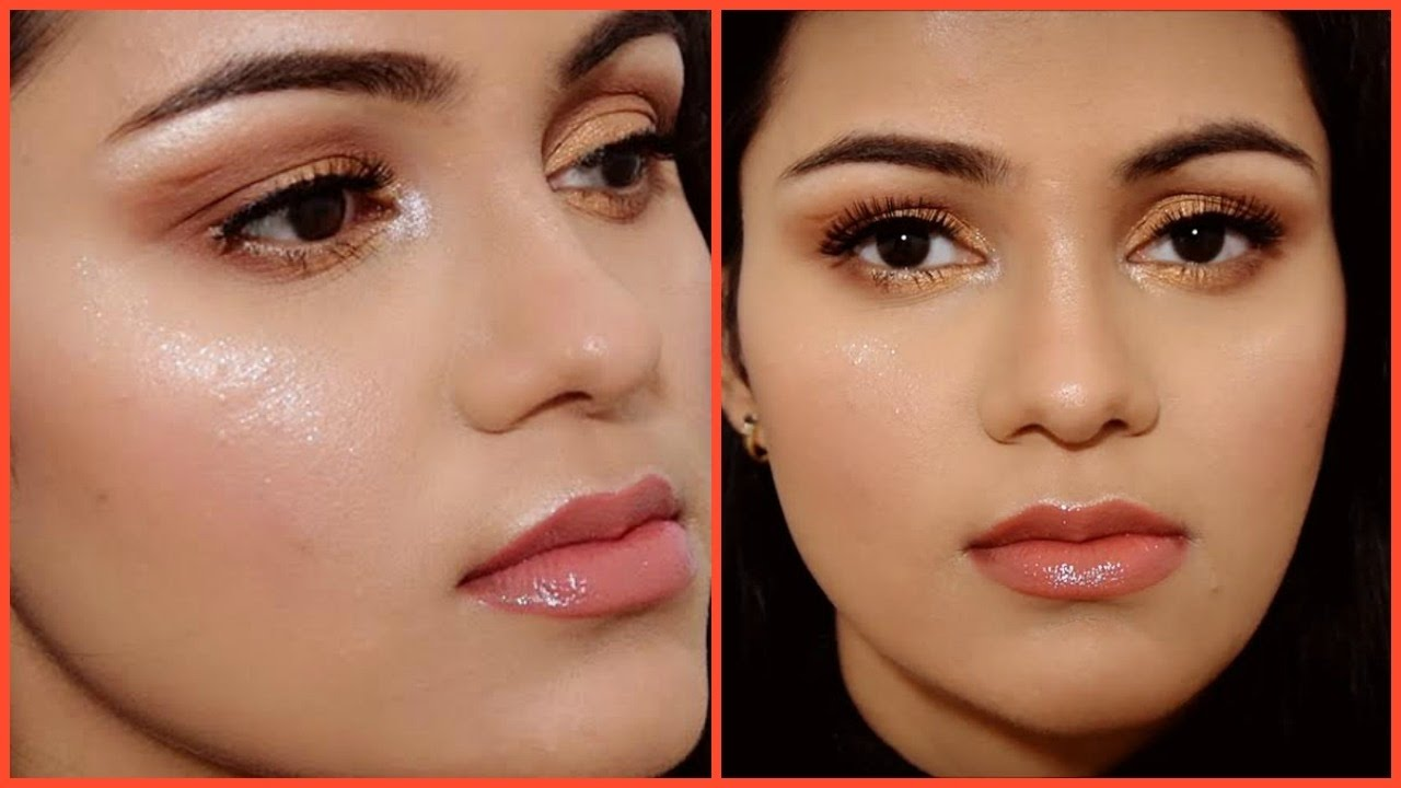 how to highlight like jennifer how to highlight like jennifer lopez in hindi glowing makeup tutorial baditri Gallery