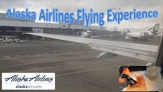 Alaska Airlines Flying Experience
