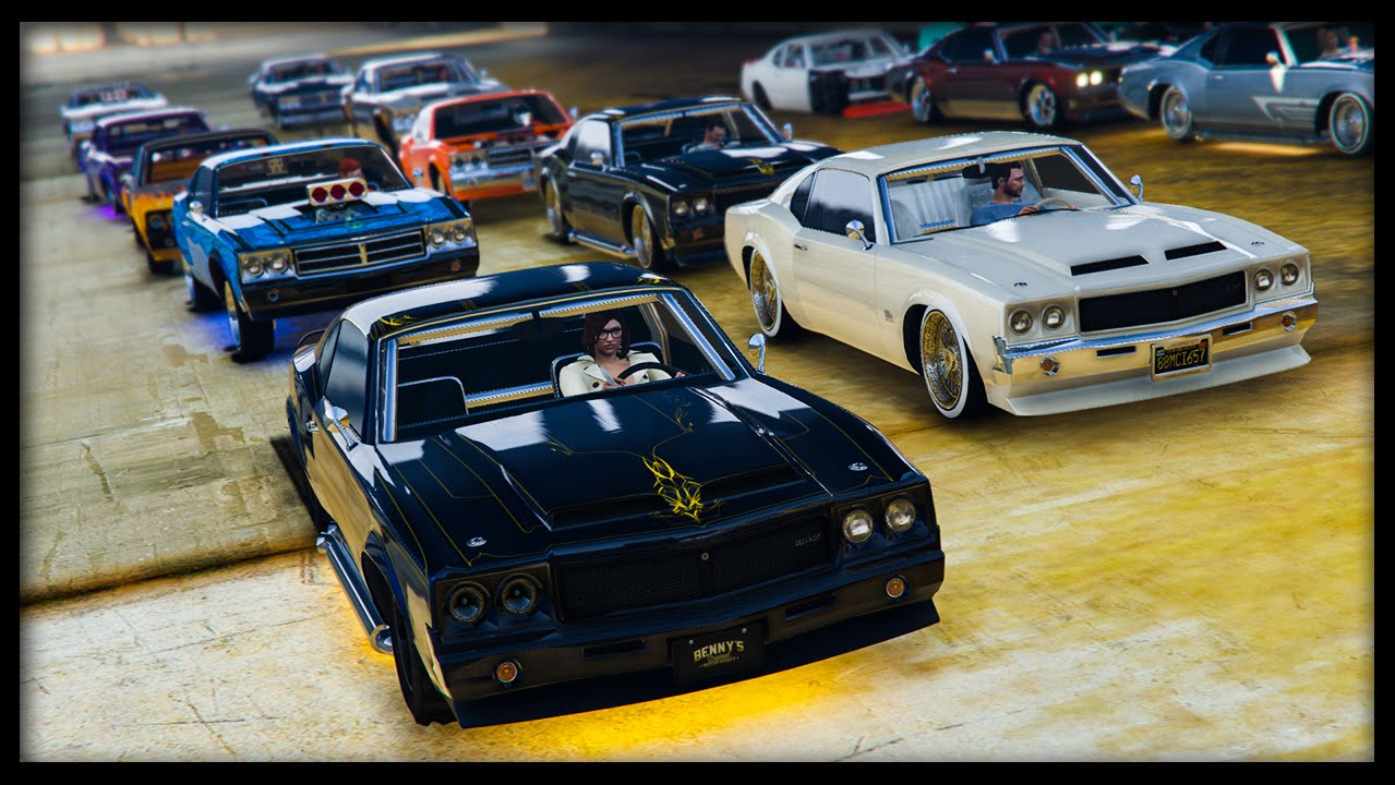 Cars On Line >> Gta 5 Online New Sabre Turbo Custom Car Show Best Looking Cars