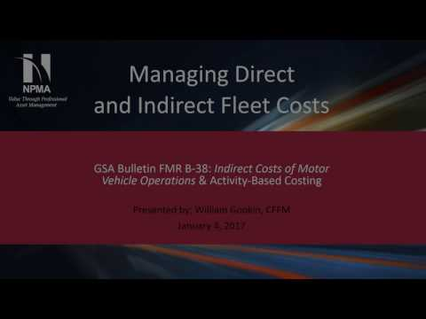 Managing Direct and Indirect Fleet Costs