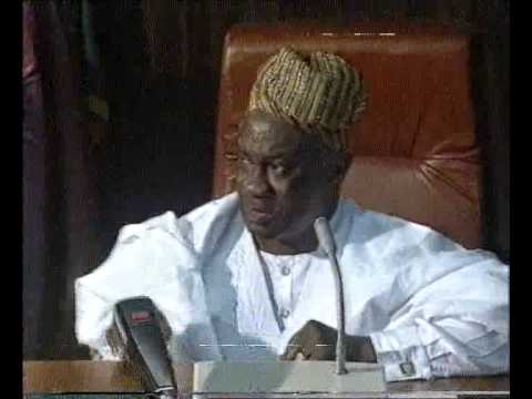 LAGOS STATE CHAPTER 1992 ANNUAL GENERAL MEETING GOVERNOR MICHEAL OTEDOLA