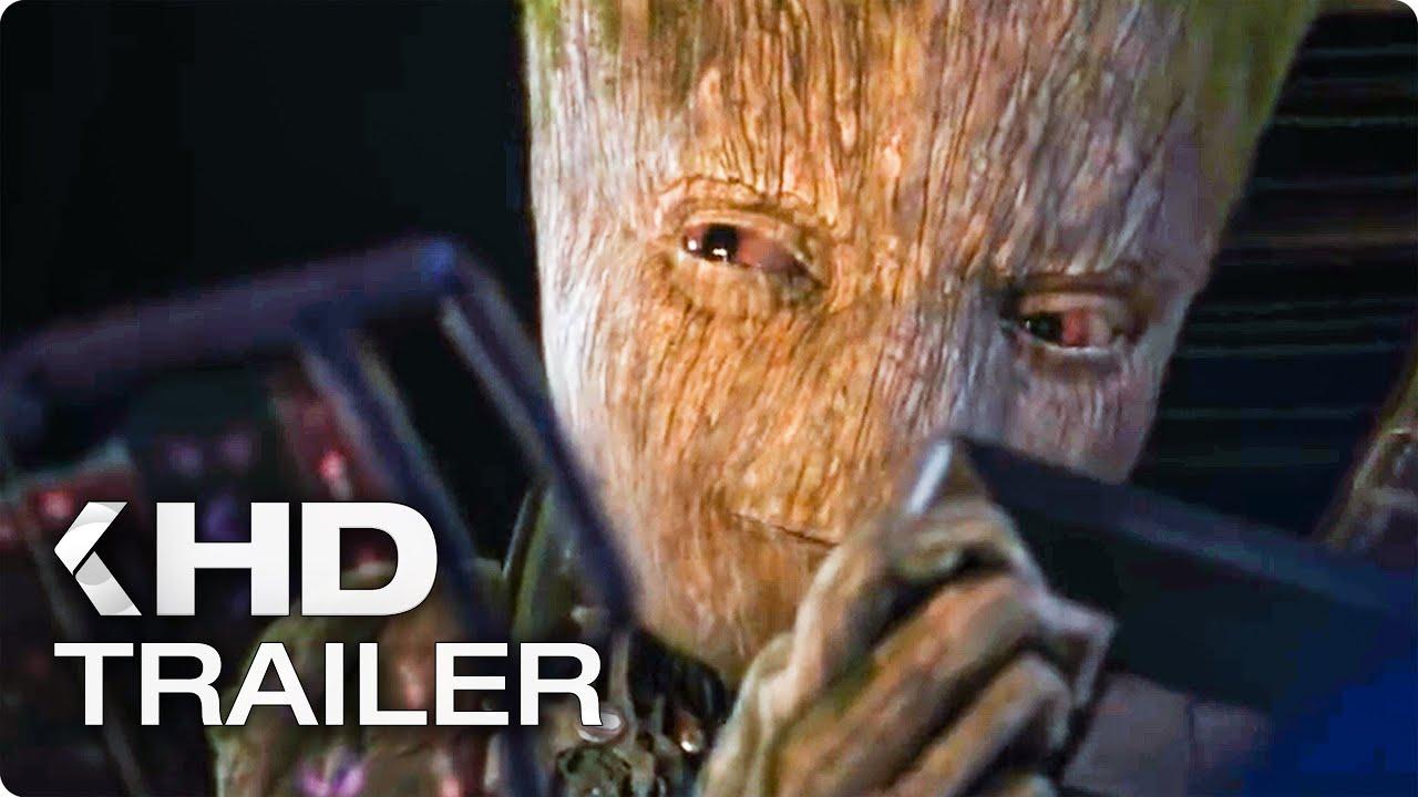 "Download AVENGERS 3: Infinity War ""Starlord vs. Teen Groot"" TV Spot & Trailer (2018)"