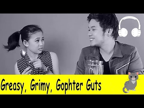 Greasy, Grimy, Gophter Guts | Family Sing Along - Muffin Songs