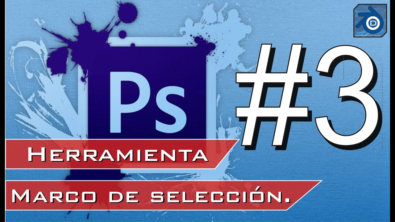 Curso Adobe Photoshop CS5 #3 Herramienta Marco de selección elíptica ...
